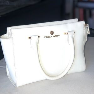 Cute white Vince Camuto purse